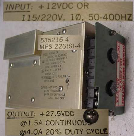 POWER SUPPLIES AND POWER CONVERSION ITEMS | Murphy's Surplus